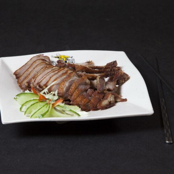 Raţă prăjită - Pui şi Raţă - Restaurantul cu specific chinezesc, KungFu King, cu livrare la domiciliu vă oferă cea mai bună mâncare chinezească din Bucureşti, fapt confirmat de clienţii noştri. Acum puteţi face comanda online şi vă puteţi, astfel, bucura de ofertele speciale oferite de restaurantul chinezesc KungFu King din Bucureşti.