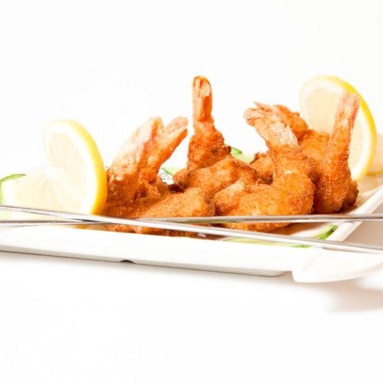Creveţi pane - Fructe de mare - Restaurantul cu specific chinezesc, KungFu King, cu livrare la domiciliu vă oferă cea mai bună mâncare chinezească din Bucureşti, fapt confirmat de clienţii noştri. Acum puteţi face comanda online şi vă puteţi, astfel, bucura de ofertele speciale oferite de restaurantul chinezesc KungFu King din Bucureşti.
