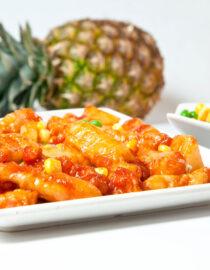 Porc dulce acrişor - Porc - Restaurantul cu specific chinezesc, KungFu King, cu livrare la domiciliu vă oferă cea mai bună mâncare chinezească din Bucureşti, fapt confirmat de clienţii noştri. Acum puteţi face comanda online şi vă puteţi, astfel, bucura de ofertele speciale oferite de restaurantul chinezesc KungFu King din Bucureşti.